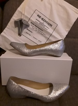 Maison Martin Margiela for H&M Ballerinas with Toecap silver-colored