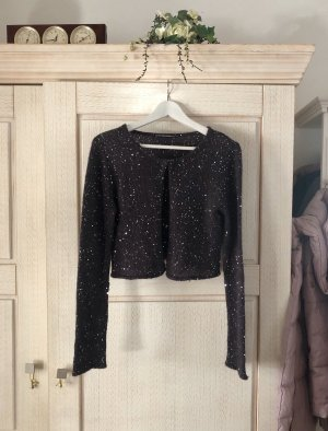 Outfitters nation Knitted Bolero slate-gray-dark grey
