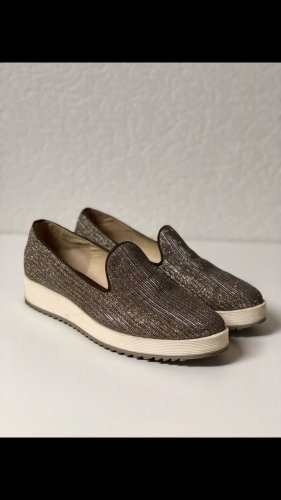 Glitzer Buffalo Damen Slipper Schuh Größe 38