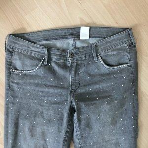 Glitzer Jeans