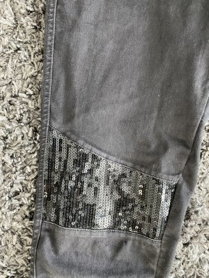Calzedonia Jeggings black-silver-colored