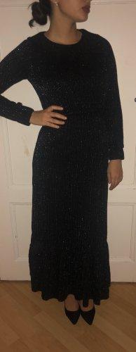 Glitzer Kleid mit Gürtel