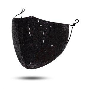 Glitzer Mundschutz Schutzmasken Waschbar TOP Angebot Damenmode