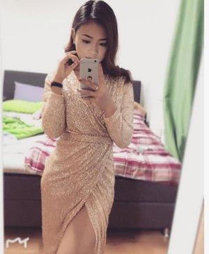 Amazone Robe de soirée doré