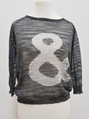 Marc Aurel Short Sleeve Sweater multicolored