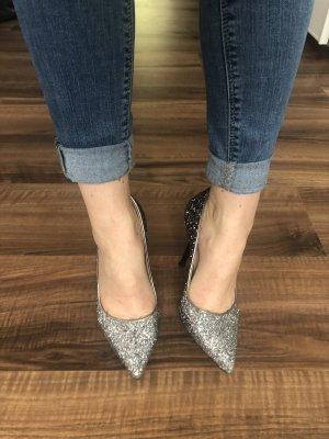 Alba Moda High Heels silver-colored