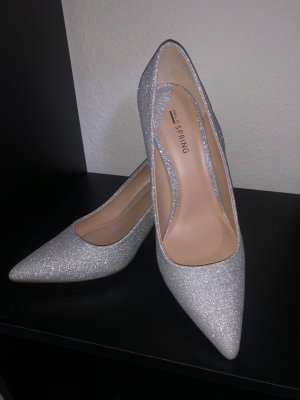 Call it Spring Spitse pumps zilver