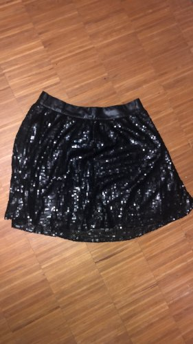 Sisters point Leather Skirt black