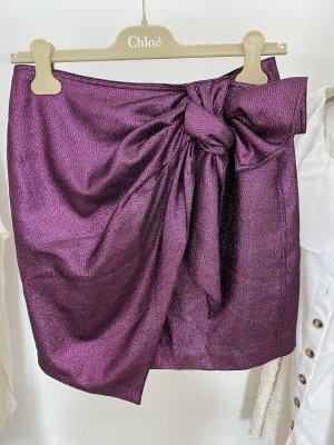 & other stories Tulip Skirt violet-black