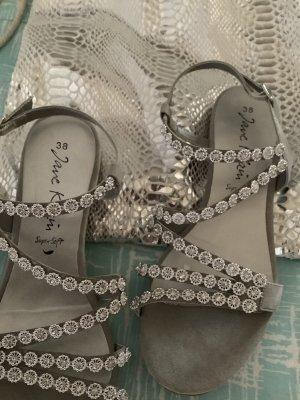 Jane Klain Sandalo con cinturino argento