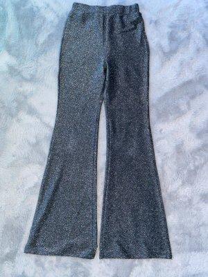 Pantalón de campana gris antracita