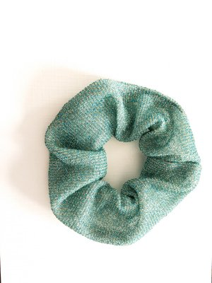 Cinta para el pelo verde grisáceo-turquesa