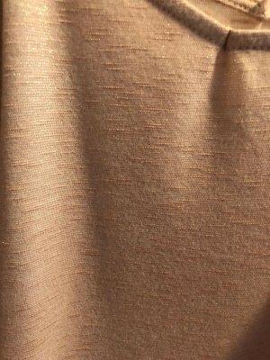Amisu Hauts épaule nues abricot coton