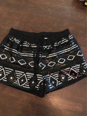 Glitzer Shorts