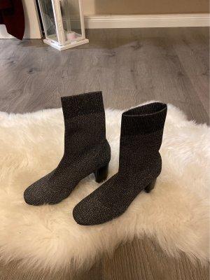 Glitzer Socken Stiefeletten