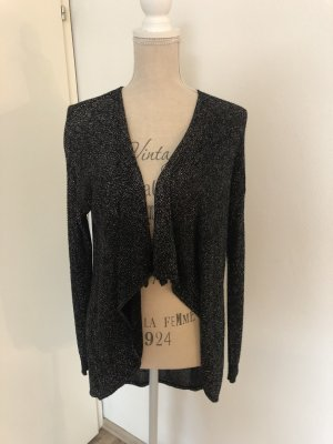 Glitzer-Strickjacke