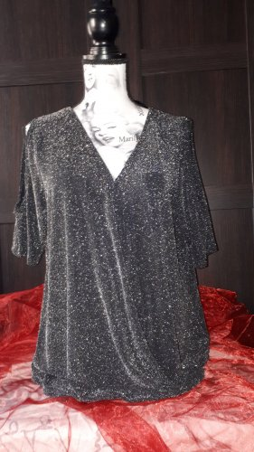 Glitzer Top L/XL
