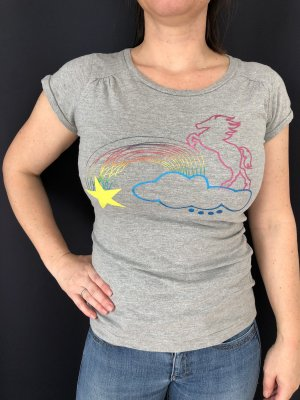 BlendShe T-Shirt multicolored cotton