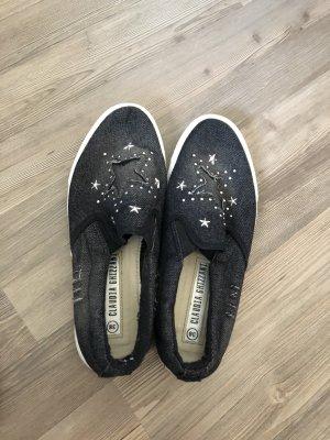 glitzerende Sternchen-Schuhe