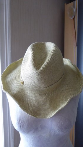 Cowboy Hat gold-colored synthetic fibre