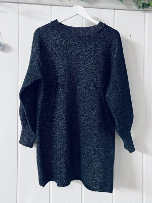 H&M Sweater Dress anthracite-silver-colored