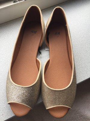 H&M Comfort Sandals gold-colored-beige