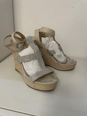 Aldo Wedge Sandals multicolored