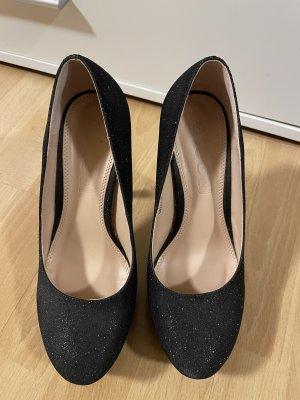 Glitzernde High Heels