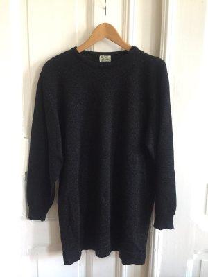 Glitzernder oversized Pullover/Minikleid 80er