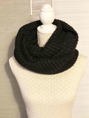 Street One Tube Scarf black mixture fibre