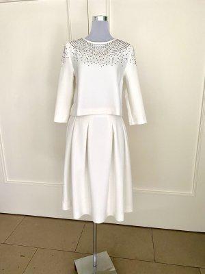 Hallhuber Donna A Line Dress natural white