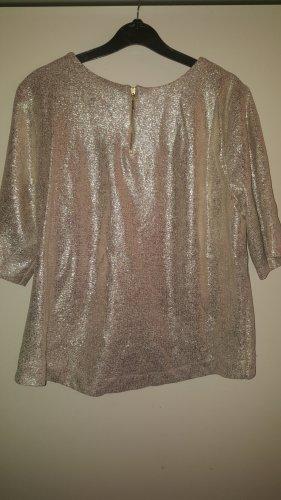 Waterval shirt zilver-goud