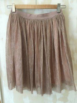 Review Falda de tul color rosa dorado