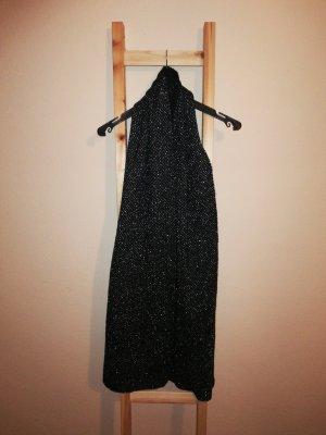 Tchibo / TCM Bufanda de lana negro-color plata