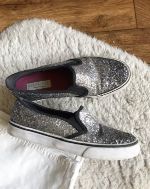 Aeropostale Slip-on Sneakers silver-colored