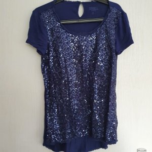 glitzershirt gr S