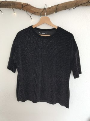 Glitzershirt Pull&Bear