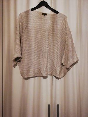 Amanti Cienki sweter z dzianiny kremowy