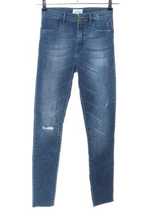 Global Funk High Waist Jeans blau Casual-Look