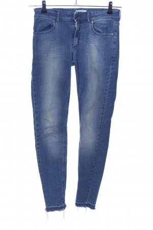 Global Funk Skinny Jeans blau Casual-Look