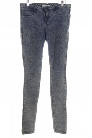 Global Jeggings stahlblau-himmelblau Jeans-Optik
