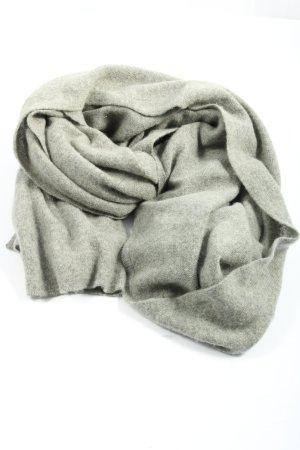 Globus Bufanda de cachemir gris claro moteado look casual
