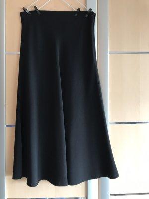 Zara Woman Gonna a vita alta blu scuro