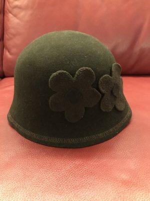Sombrero acampanado marrón