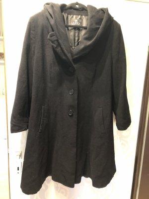 BARBARA LEBEK Hooded Coat black