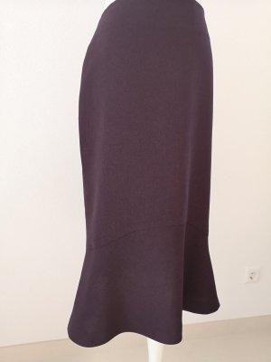 H&M Jupe tulipe violet foncé