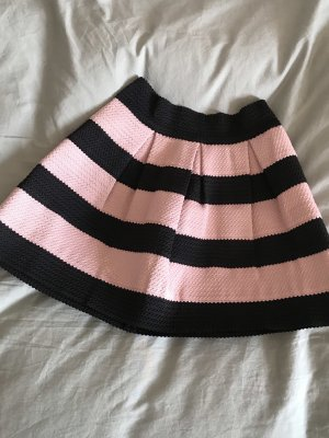 H&M Rozkloszowana spódnica różany-czarny