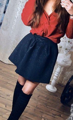 Tulip Skirt black-white