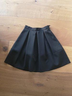 Hallhuber Jupe taille haute noir