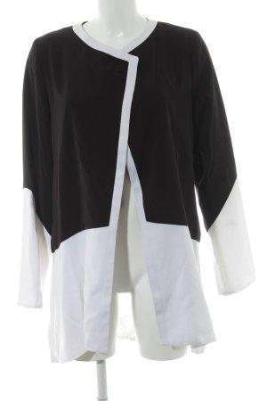 Glööckler Long-Blazer schwarz-weiß Elegant